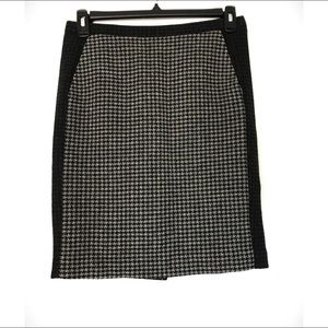 J. Crew Factory Wool The Pencil Skirt Colorblock